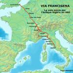 Francigena-mappa